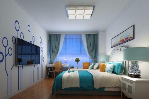 卧室吊顶简单风格装潢效果图