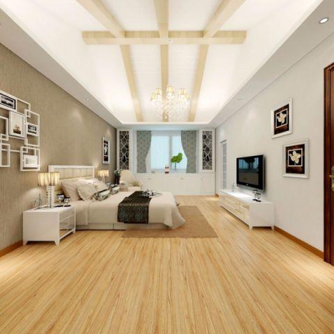 卧室电视柜现代简约风格装饰效果图