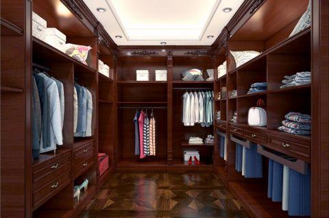 衣帽间地板砖中式风格装潢效果图