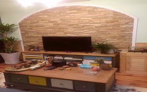 客厅茶几田园风格装饰设计图片