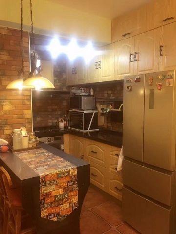 厨房橱柜田园风格装潢设计图片