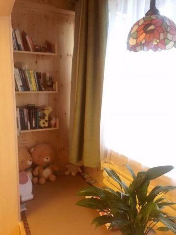 儿童房窗帘田园风格装修效果图