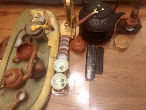 客厅茶几田园风格装饰效果图