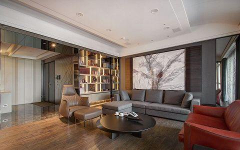 现代风格180平米大户型室内装修效果图