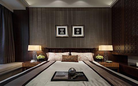 卧室照片墙中式风格装饰设计图片