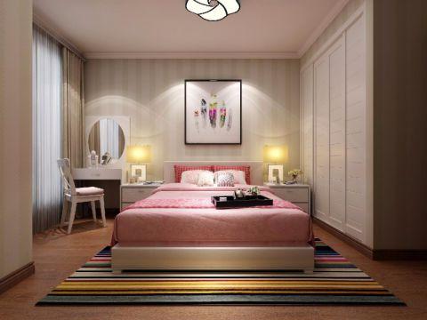 卧室床现代简约风格装饰设计图片