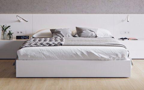 卧室床现代简约风格装饰图片