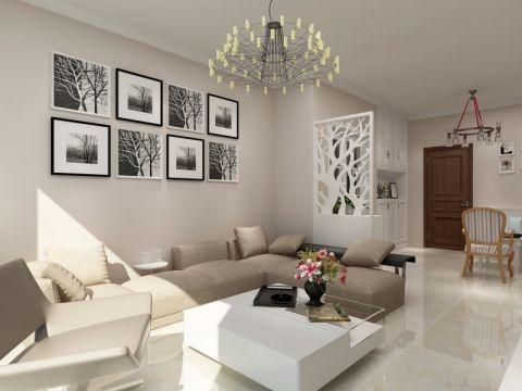 简约风格80平米公寓新房装修效果图