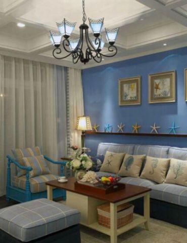 客厅照片墙地中海风格装修图片