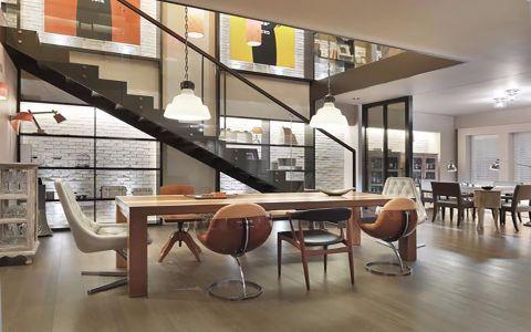 餐厅楼梯现代简约风格装修效果图