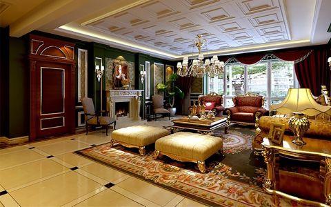 新古典风格280平米别墅新房装修效果图