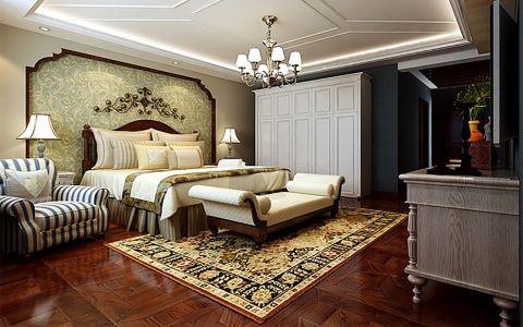 卧室地板砖新古典风格装饰设计图片