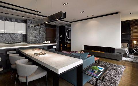 餐厅吊顶现代风格装饰效果图