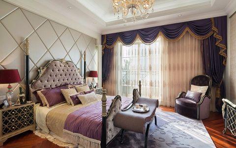 卧室床简欧风格装修效果图
