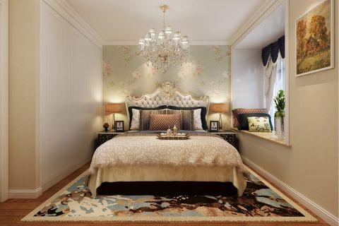 卧室飘窗简欧风格装修效果图