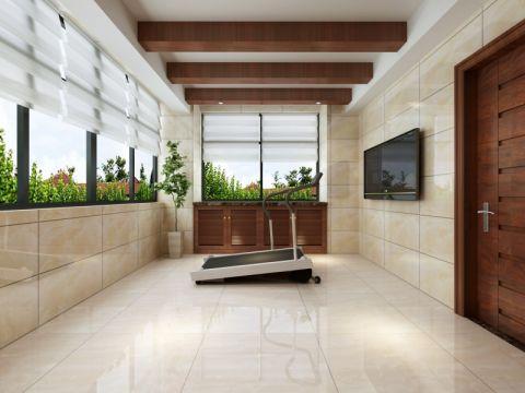 阳台地砖新古典风格效果图