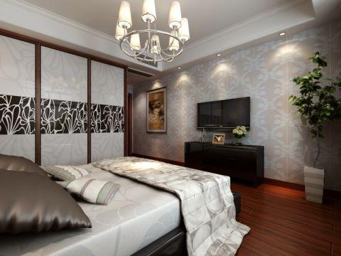 卧室新古典风格装饰效果图