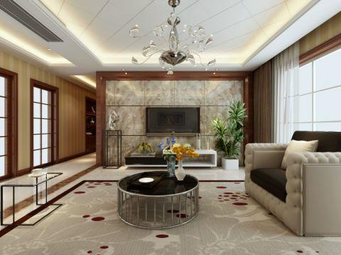 客厅新古典风格装修图片