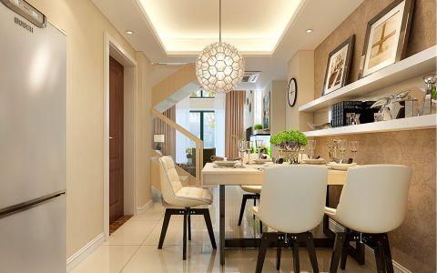 现代简约风格130平米复式新房装修效果图