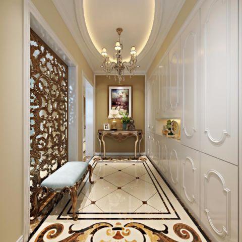 玄关吊顶欧式风格装潢设计图片