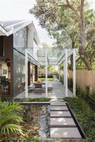 花园地砖后现代风格装饰效果图