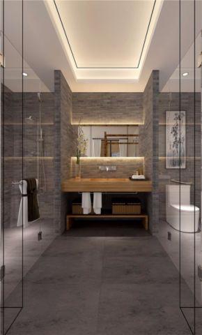 卫生间吊顶中式风格装饰设计图片