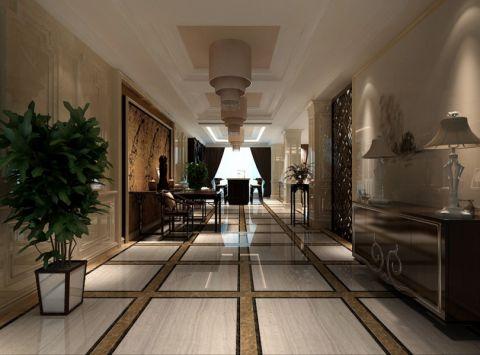 客厅走廊混搭风格装修效果图