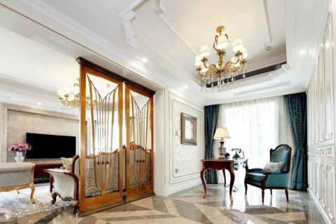 法式风格180平米四室两厅新房装修效果图