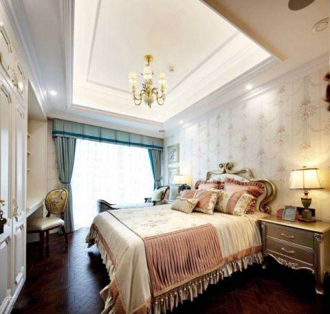 卧室吊顶法式风格装修效果图