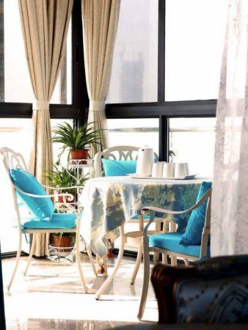 餐厅窗帘法式风格装潢效果图