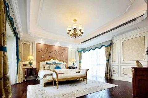 卧室地板砖法式风格装潢图片