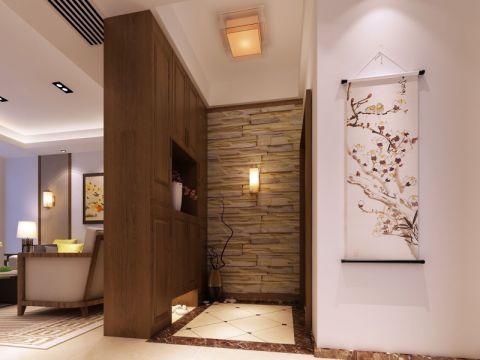玄关吊顶新中式风格效果图