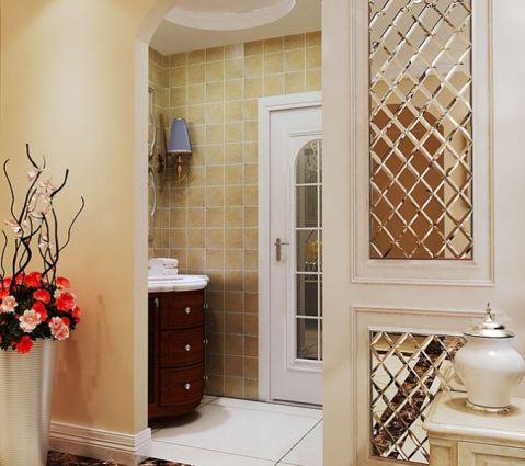 卫生间背景墙欧式风格装饰效果图
