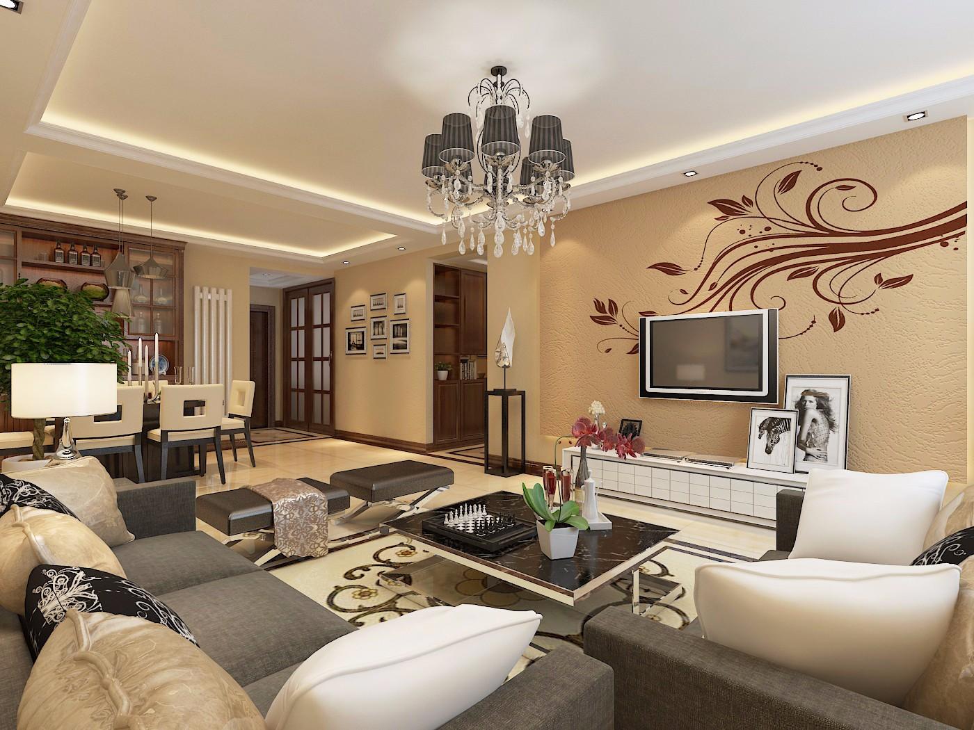 4室2卫2厅142平米现代风格