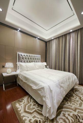 卧室床新古典风格装修设计图片