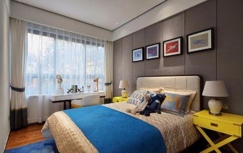 卧室照片墙现代中式风格装修效果图