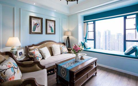 美式风格140平米大户型室内装修效果图