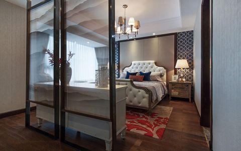 卧室隔断美式风格装潢效果图