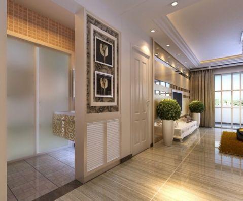 客厅窗帘现代风格装潢设计图片