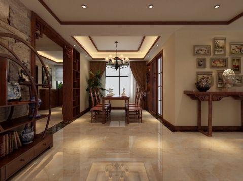 餐厅走廊中式风格装饰图片