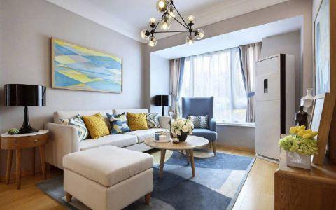 北欧风格80平米公寓室内装修效果图