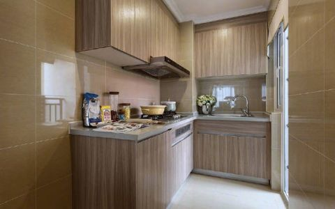 厨房橱柜北欧风格装饰图片