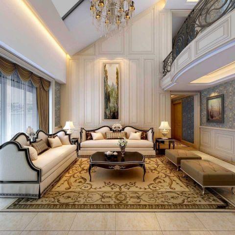 客厅沙发欧式风格装饰图片
