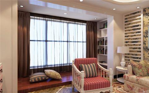 阳台窗帘地中海风格装潢设计图片