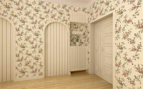 卧室走廊欧式田园风格装饰图片