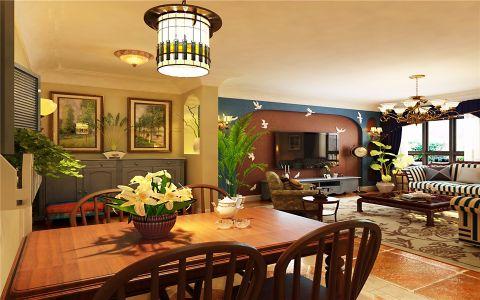 地中海风格100平米套房室内装修效果图