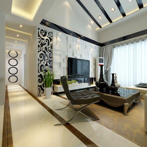 现代风格190平米复式新房装修效果图