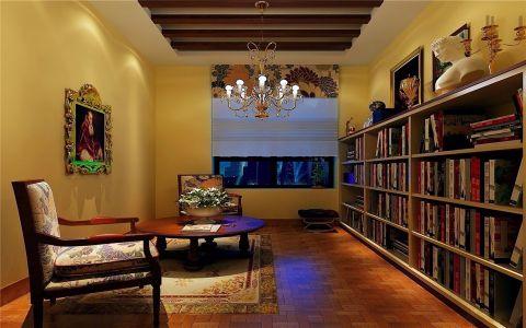书房吊顶地中海风格装修效果图