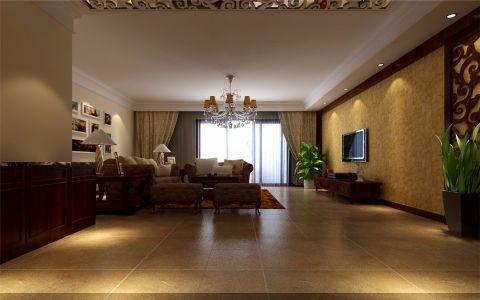 客厅门厅欧式风格效果图