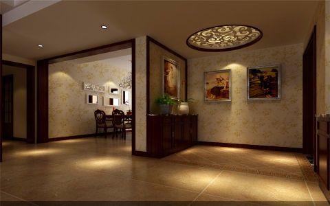客厅门厅欧式风格装修图片